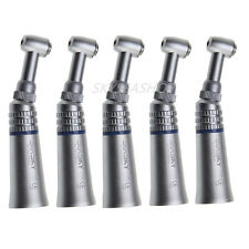 5pcs NSK Style Dental Slow Low Speed Handpiece Push Button Contra Angle Sale UK