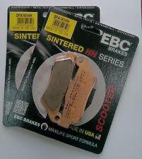 Gilera Nexus 500 (2003 to 2012) EBC Sintered FRONT Brake Pads (SFA181HH) (2Sets)