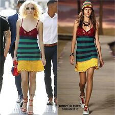 **TOMMY HILFIGER** Hilfiger Collection Crochet Mini Dress **SS/16 CAMPAIGN**