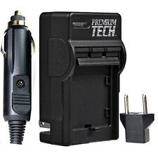 Premium Tech Rapid Battery Charger for Olympus LI-50B Battery, PT-19