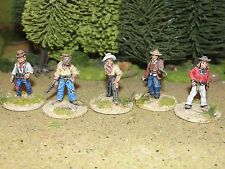 OLD WEST GUNFIGHTERS PRO PAIMTED BY EYE 28MM Artesan/ Foundry FIGURES