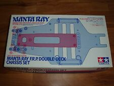 Tamiya Manta Ray F.R.P. Double-Deck Chassis Set, Item: 53099, NIB (Vintage)