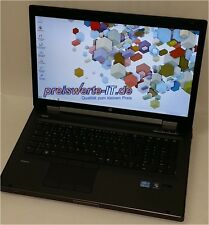 HP EliteBook Workstation 8760w, Core i7-2820m 2.3ghz 8gb 128gb SSD NVIDIA win 7