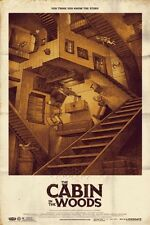 The Cabin in the Woods Mondo Movie Poster Art Print Phantom City Creative Horror