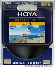 Hoya 52mm Digital Slim Circular Polarizing CPL CIR-PL Filter
