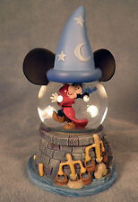Disney Mickey Mouse Snow Globe Sorcerer Apprentice Fantasia