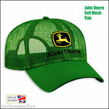 BRAND NEW LICENSED COOL FULL MESH JOHN DEERE GREEN TRUCKER CAP TRACTOR DEAR HAT
