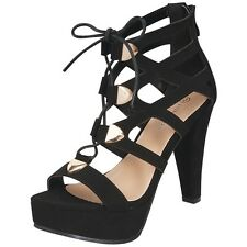 New Women Special Occasion Sandals w/Lace and Zipper Size 8.5