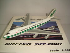 """C&C 500 Evergreen International Airlines B747-100SF """"1980s color"""" 1:500"""