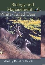 Biology and Mangement of White Tailed Deer (2011, Hardcover)