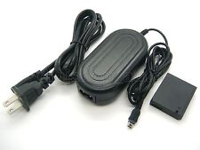 AC Adapter Supply For PANASONIC DMW-AC5 + DMW-DCC7 DC Coupler DMC-LX5 DMC-LX7