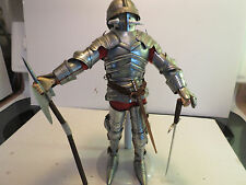 """Cotswold Collectibles 12"""" Armored Knight, Archduke Siegmund Of Tyrol, Circa 1480"""