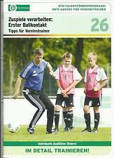 DFB Training: Zuspiele verarbeiten: erster Ballkontakt, ab U11