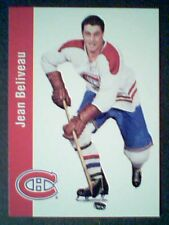 JEAN BELIVEAU  PARKHURST 56/57 AUTHENTIC REPRINT CARD