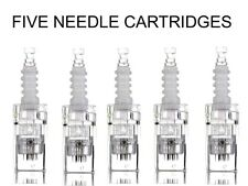 5 pcs Cartridge tops for Electric Auto Microneedle Derma Pen UK Seller £9.99