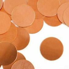 Stamping Blank Circle 1 Inch Metal Blanks Copper Metal Stamping Blanks