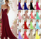 2016 New Wedding Ball Evening Formal Party Prom Bridesmaid Dress Stock Size 6-18