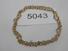 Vintage Jewelry Necklace TRIFARI GOLD TONE BEAUTIFUL 5043