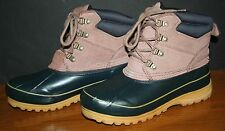 Women's Weathermates Duck Boots Duck Shoes 7M WORN ONCE! HUNTING BOOTS INSULATED