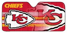 Kansas City Chiefs Auto Sun Shade [NEW] Car Truck Window Reflective Cover 59x27