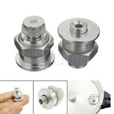 2 Silver Tone Replacement Cookware Pressure Cooker Safety Valve Part Kitchen YG