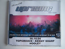 UPRISING - 30.10.04 - (HALLOWEEN) TOPGROOVE / KENNY SHARP & HOOLEY CD