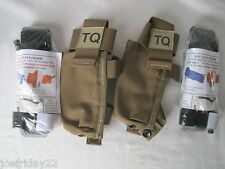 2X Genuine NARP CAT Tourniquet W/ LBT MOLLE  Pouch USN / USMC Crye Navy SEAL
