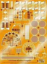 Paragrafix PGX180 - 1/72 Millennium Falcon Photoetch Set For FineMolds UK STOCK