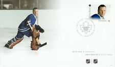 CANADA 2015 GREAT CANADIAN NHL GOALIES -  JOHNNY BOWER FIRST DAY COVER