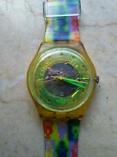 """orologio swatch STANDARD GENT modello""""BERMUDAS""""GK 133 anno 1991 USATO"""