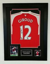 *** nouveau olivier giroud signed shirt autographe display ***