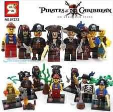 LEGO PIRATES OF THE CARIBBEAN BLOCKS MINIFIGURES PIRATAS DEL CARIBE JACK SPARROW