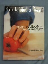 NEW YORK CRAFT AND GRAMERCY TAVERN CHEF TOM COLICCHIO RECIPES HARDCOVER 2000