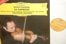 SALVATORE ACCARDO*PAGANINI*THE 24 CAPRICES*DGG FRANCE *2LP STEREO