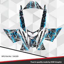SLED WRAP DECAL STICKER GRAPHICS KIT FOR SKI-DOO REV MXZ SNOWMOBILE 03-07 SA0309