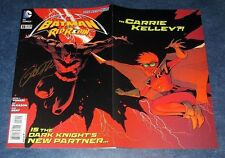 BATMAN and RED ROBIN 19 signed 1st print PETER TOMASI 1st DC app CARRIE KELLY