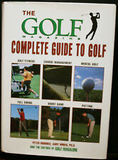 GOLF BOOK, THE GOLF MAGAZINE COMPLETE GUIDE TO GOLF, MORRICE, BEST ADVICE