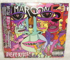 "Maroon 5 OVEREXPOSED Taiwan CD w/OBI Digipak (special trk ""Let's Stay Together"")"