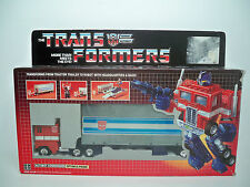 R1005791 OPTIMUS PRIME LOOSE WITH BOX PEPSI PROMO G1 TRANSFORMERS 100% COMPLETE