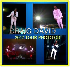 CRAIG DAVID FOLLOWING MY INTUITION TOUR CONCERT LIVE PHOTO CD 1500