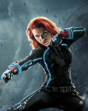 Marvels Avenger Black Widow Scarlett Johansson Poster and Wall Decor 16x20