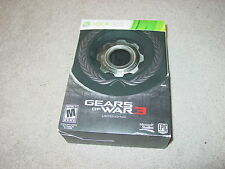 Xbox 360 Gears of War 3 Limited Edition (New Factory Sealed!!!)