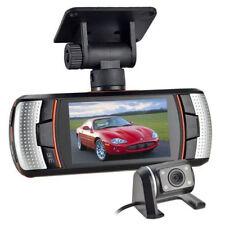 2.7 Doppia Lente Auto Dash Cam 1080P videocamera HD Veicolo DVR Visione Notturan