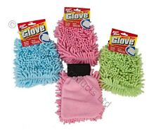 Paños De Microfibra Limpieza Glove Guante Lavado Limpia Home Car Duster Pulido lavado Pad
