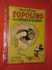 ALBO D'ORO TOPOLINO n°23-25-27-DEL 1951-LIRE150-lampada aladino-mondadori-disney