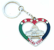 Key Chain ring palestine Flag Palestinian Al-aqsa Mosque Dome of the Rock