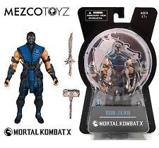 "Mezco Toyz Mortal Kombat X Sub-Zero 6"" Action Figure MOC"