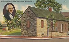 George Washington's Headquarters Winchester VA Postcard