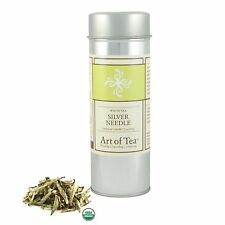 Art of Tea Organic Silver Needle Loose Leaf White Tea 1.5oz
