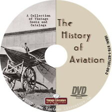 History of Aviation { 27 Vintage Airplane Books } on DVD